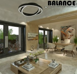 Roof Office/ Living Space / Garden in Casa Compound