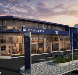 Peugeot Showroom & Service Center – New Cairo